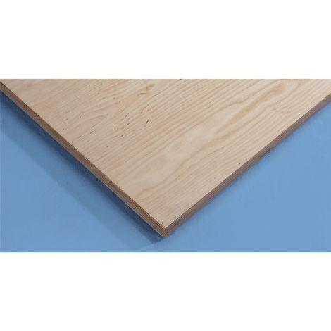 Plateau pour établi - plateau en multiplis de bouleau - largeur 1270 mm, épaisseur 40 mm