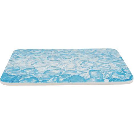 Plateau rafraichissant pour petits animaux - 28x20cm bleu Trixie