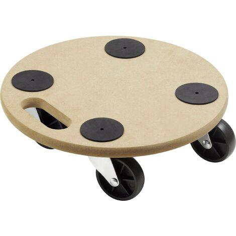 Plateau roulant 350 mm, force portante : 150 kg W63905