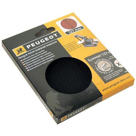 Plateau/support pour disque auto-agrippant D. 127 mm pour ENERGYSAND 25T - 806299 - Peugeot - -