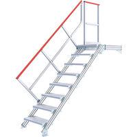 Plateforme d'accès - Largeur des marches 600mm (plusieurs tailles disponibles)