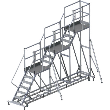 Plateforme de chargement - 3 niveaux