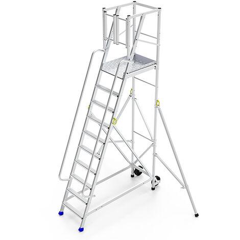 Plateforme de ragréage avec une paire de rampes latérales (plusieurs tailles disponibles)