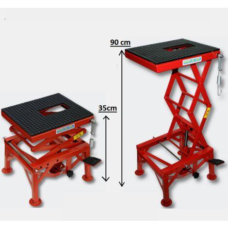 Plateforme élévatrice 135kg MOTO / QUAD / SCOOTER WC