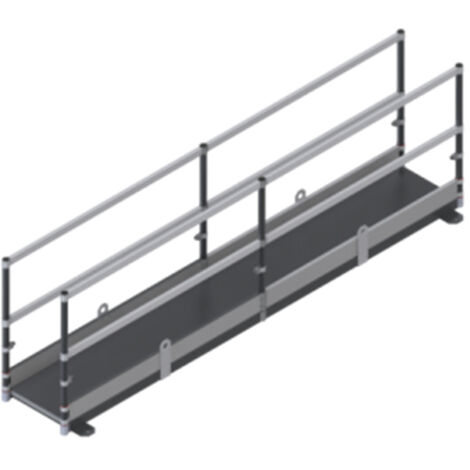 Plateforme - Passerelle: Largeur int. 0.60m (plusieurs tailles disponibles)