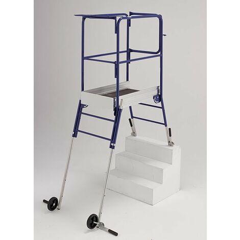 Plateforme pour escalier: 2.68m haut. travail max