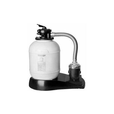 Platine de filtration monobloc 5,5m3/h - 0,4ch - D. 400mm