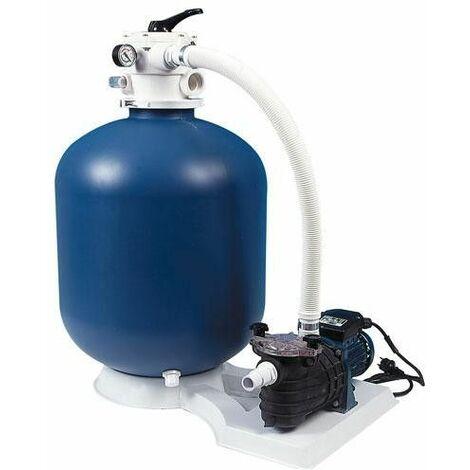Platine de filtration sur socle 10m3/H