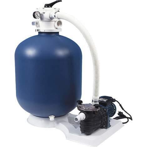 Platine de filtration sur socle 8m3/H