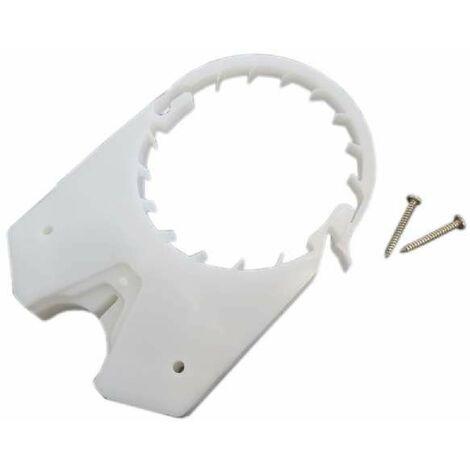 Platine de fixation pour pipe bâti-support
