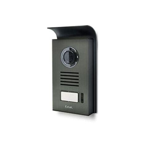 Platine de rue pour visiophone Extel LEVO Access - STEP Access - CONTACT - NOVA et ICE AVEC lecteur de Badge RFID (non géré sur NOVA et ICE) - AVEC lecteur de Badge RFID (non géré sur NOVA et ICE)