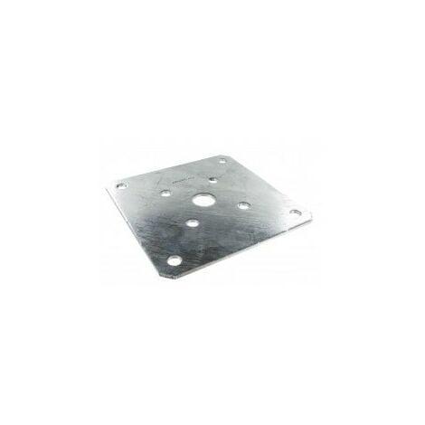Platine optionnelle 180x180 pour pied de poteau - SIMPSON