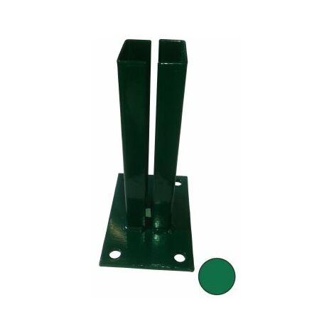 Platine Portillon Jardin Barreaudé ou Premium Noir