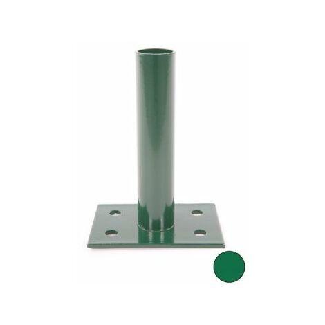 Platine Portillon Jardin Grillagé Vert