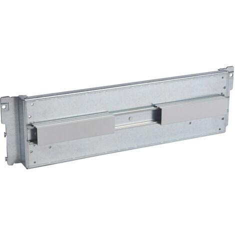 Platine pour branchement tarif jaune pour DPX250 montage vertical en coffret ou armoire XL3400 (020250)