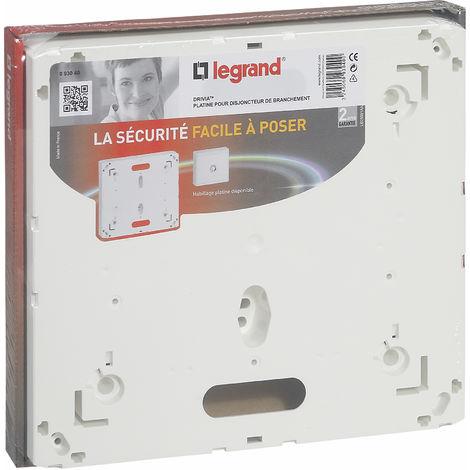 Platine pour disjoncteur abonné Legrand