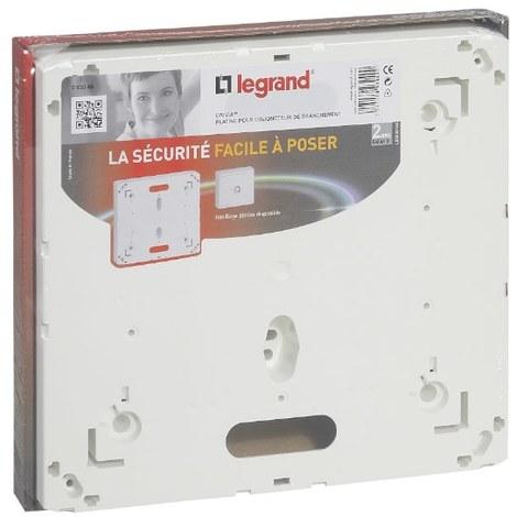Platine pour disjoncteur d'abonné ERDF seul et coffret 13 modules