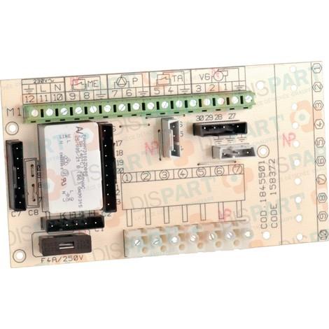 Platine Pour SUNAGAZ GXE-GXE3000-3000E-3000EI-3000V-3000 VI Réf. 158372 ATLANTIC PAC ET CHAUDIERE