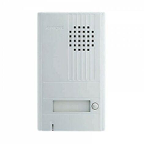 Platine saillie 1 BP avec façade aluminium DA1DS - AIPHONE 110538