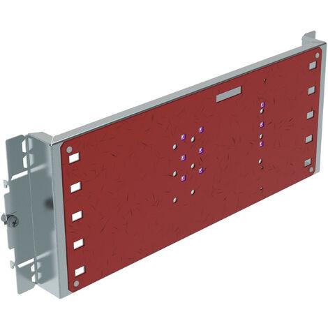 Platine tarif jaune XL³ 400 - DPX³ 250 - coffret ou armoire - horizontal