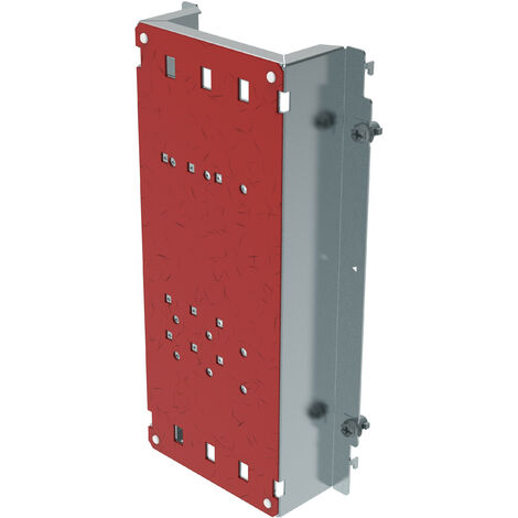 Platine tarif jaune XL³ 400 - DPX³ 250 - gaine à câble - vertical
