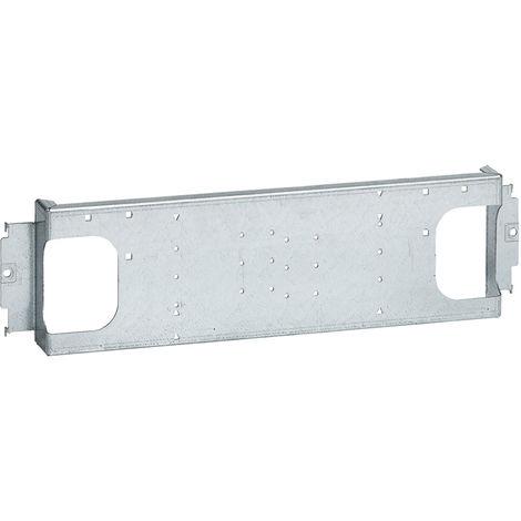 Platine XL³ 400 - 1 DPX³ 160 magnéto-thermique - fixe prise avt - horiz