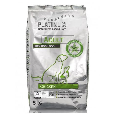 Platinum Natural Adult chicken Saco de 1,5 Kg