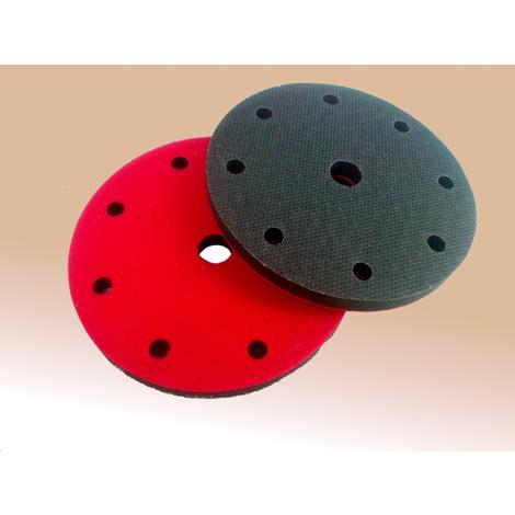 Plato amortiguador velcro-velcro de 150 mm de diámetro Flexipads