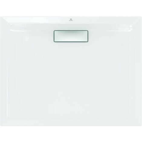 Plato de ducha 90X70 cm de acrílico Ideal Standard Ultra Flat New blanco sin desagüe   Blanco
