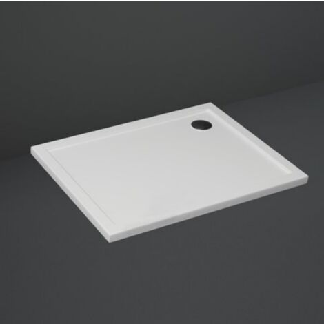 Plato de ducha 90x70 cm en acrílico blanco brillante serie London | Blanco - Standard