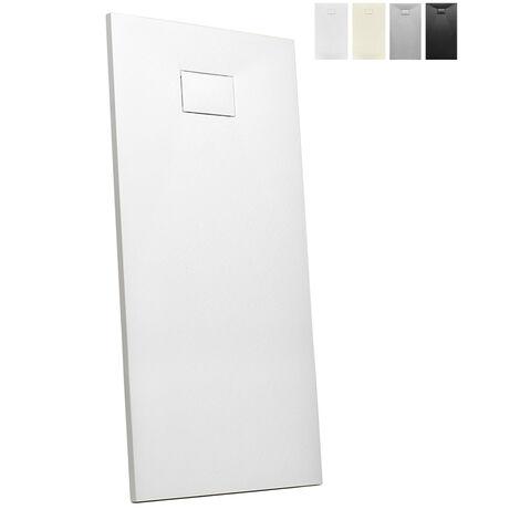 """main image of """"Plato de ducha a ras de suelo de resina rectangular 170x70 Stone"""""""