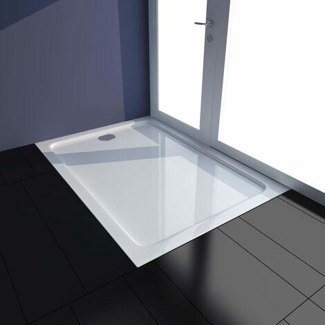 Plato de ducha ABS blanco 70x100 cm