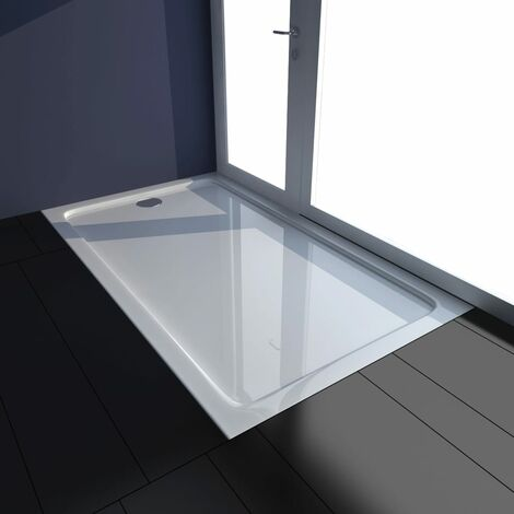 Plato de ducha ABS blanco 70x120 cm