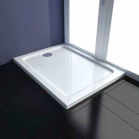 Plato de ducha ABS blanco 70x90 cm