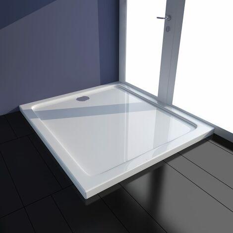 Plato de ducha ABS blanco 80x90 cm