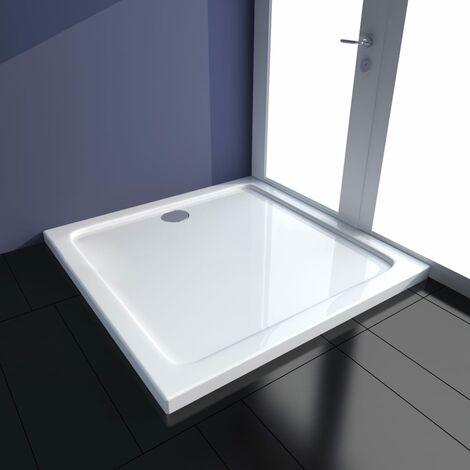 Plato de ducha ABS blanco 90x90 cm