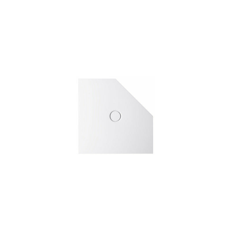 Plato de ducha Floor Caro 7211, 100x100cm, color: plateado - 7211-410 - Bette