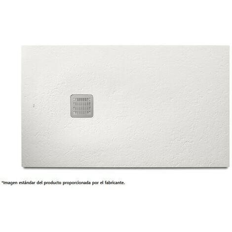 Plato de ducha blanco TERRAN - ROCA - Medidas: 1000X800 mm.