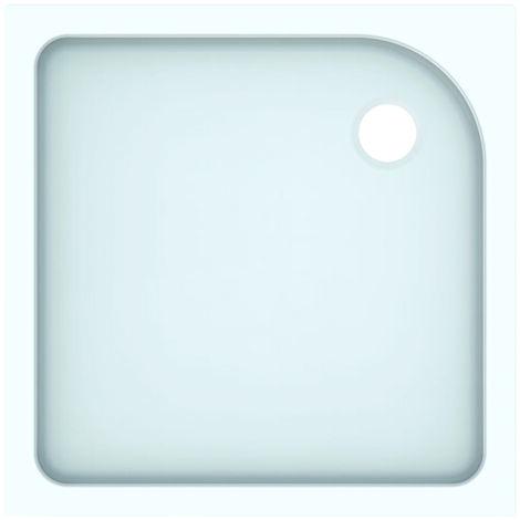 Plato de ducha cuadrado Geberit Tala, brillante/blanco, 80 x 80 cm - 662480000