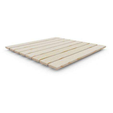 Plato de ducha de madera Ecowood cm 4x80x80 ARKEMA DESIGN - prodotto made in Italy CV-D107