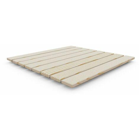 Plato de ducha de madera Ecowood cm 4x80x80 ARKEMA DESIGN - prodotto made in Italy CV-D107 - Madera Ecowood