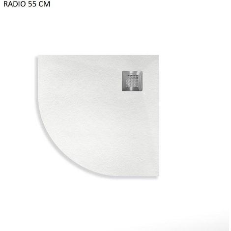 Plato de Ducha de Resina CURVE de NUOVVO® - 80 cm de ancho