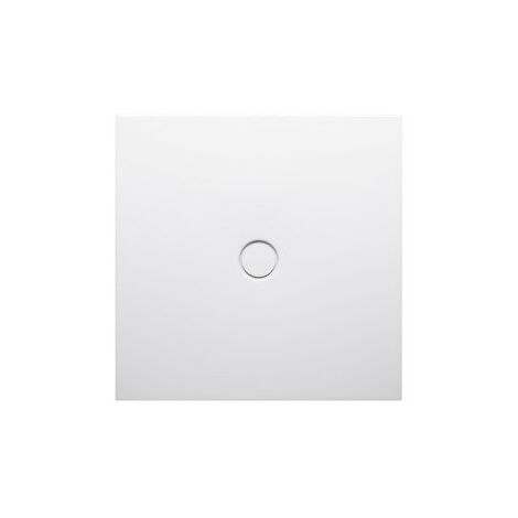 Plato de ducha de suelo Bette con antideslizante Pro 1661, 100x90cm, color: Blanco - 1661-000AE