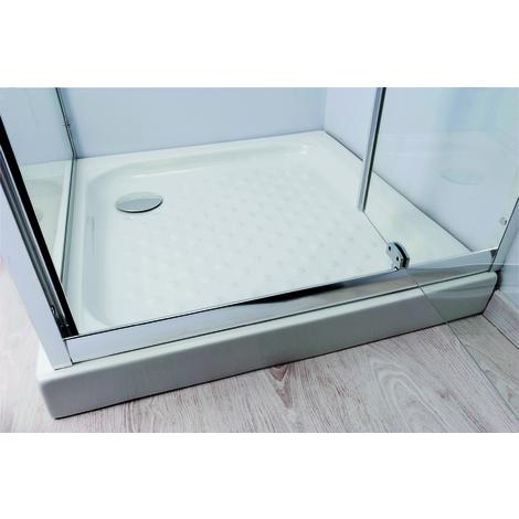 Plato de ducha en gres CERA. Dimensiones 80x120x11 cm - Aqua +