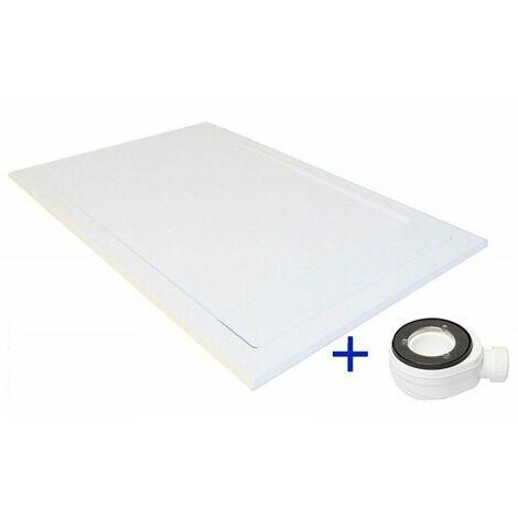 Plato de ducha extraplano PREMIUM AMBIENTE Blanco Ral 9003