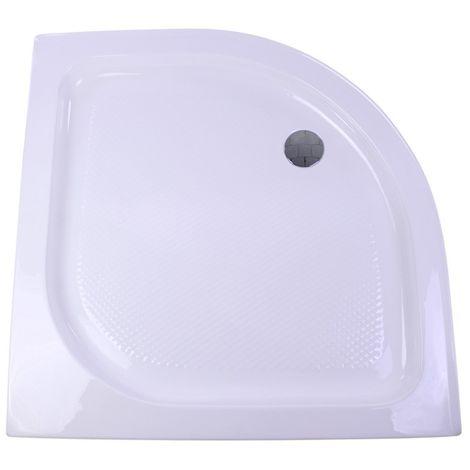 Plato de ducha fibra 90 x 90 cm liquidación