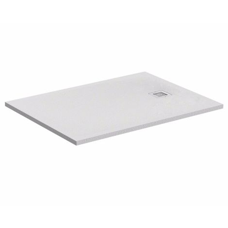Plato de ducha ideal Standard Ultra Flat S rectangular 1000x800mm K8219, color: gris cuarzo - K8219FS