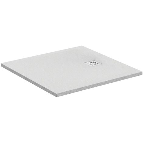 Plato de ducha Ideal Standard Ultra Flat S Square 800x800mm, K8214, color: gris cuarzo - K8214FS
