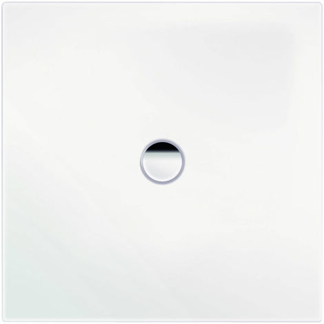 Plato de ducha Kaldewei Scona 911 80x80cm, color: Blanco alpino mate con efecto perla - 491100013711