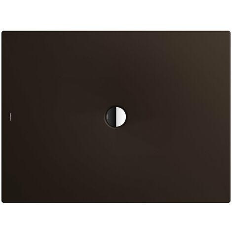 Plato de ducha Kaldewei Scona 940 70x90cm, color: Marrón Woodberry Mate con efecto perla - 494000013730